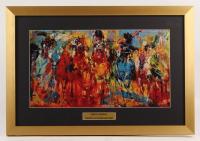 "LeRoy Neiman ""The Kentucky Derby"" 16.5x24 Custom Framed Print Display"