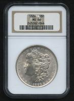 1886 $1 Morgan Silver Dollar (NGC MS 66)
