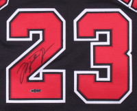 Michael Jordan Signed Chicago Bulls Jersey (UDA COA) at PristineAuction.com