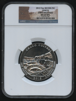 2012 5oz Silver Jumbo 25¢ - Chaco - New Mexico - America The Beautiful - ATB - Jumbo Quarter - Early Releases (NGC MS 69 DPL)