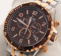 Brandt & Hoffman Pythagoras Men's Swiss Chronograph Watch at PristineAuction.com