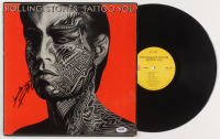 """Keith Richards Signed The Rolling Stones """"Tattoo You"""" Vinyl Record Album (PSA LOA)"""