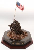 "The Danbury Mint ""Marine Corps War Memorial"" Replica Sculpture"