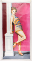 """Hector Monroy Signed """"Marilyn Monroe"""" 24x47 Original Oil Painting on Canvas (PA LOA) at PristineAuction.com"""