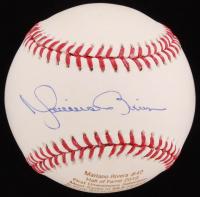 Mariano Rivera Signed OML Laser Engraved Baseball (JSA COA)