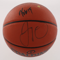 Kemba Walker & Jayson Tatum Signed NBA Game Ball Series Basketball (PSA COA)