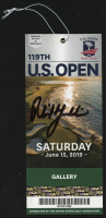 Phil Mickelson Signed 2019 U.S. Open Ticket (JSA COA)