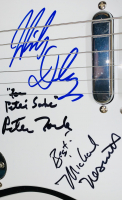 "Lot of (2) The Monkees Signed Items with a 9x14 Custom Framed Photo & Full-Size Electric Guitar Signed by (4) with Michael Nesmith, Micky Dolenz, Peter Tork & Davy Jones Inscribed ""Best"" (PSA LOA & JSA COA) at PristineAuction.com"