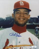 Bobby Tolan Signed Cardinals 8x10 Photo (JSA COA) at PristineAuction.com
