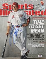Joey Votto Signed Cincinnati Reds 11x14 Photo (PSA Hologram) at PristineAuction.com