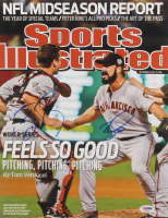 Buster Posey & Brian Wilson Signed San Francisco Giants 11x14 Photo (PSA Hologram) at PristineAuction.com