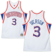 Allen Iverson Signed Philadelphia 76ers Jersey (Fanatics Hologram) at PristineAuction.com