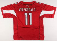 Larry Fitzgerald Signed Arizona Cardinals Super Bowl XLIII Jersey (PSA Hologram) at PristineAuction.com