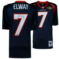 """John Elway Signed Denver Broncos Jersey Inscribed """"HOF 04"""" (Fanatics Hologram) at PristineAuction.com"""