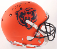David Montgomery Signed Chicago Bears Matte Orange Full-Size Helmet (JSA COA) at PristineAuction.com