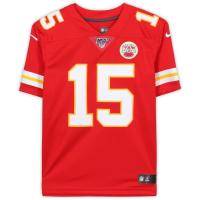 Patrick Mahomes Signed Chiefs Nike NFL 100 Jersey (Fanatics Hologram) at PristineAuction.com