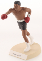 "Muhammad Ali Signed LE Black Trunks ""The Greatest"" 9"" Porcelain Figurine with Original Box (Salvino Sports Legends COA) at PristineAuction.com"