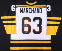 Brad Marchand Signed Jersey (Marchand COA)