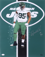 Quinnen Williams Signed LE New York Jets 16x20 Photo (JSA COA) at PristineAuction.com
