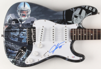 "Charles Woodson Signed 39"" Oakland Raiders Electric Guitar (PSA Hologram)"