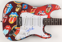 "Keith Richards Signed The Rolling Stones 39.5"" Electric Guitar (PSA Hologram) at PristineAuction.com"