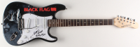 "Henry Rollins Signed 39.5"" Black Flag Electric Guitar Inscribed ""Black Flag"" (JSA Hologram) at PristineAuction.com"