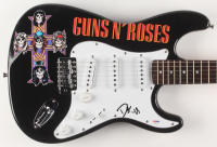 "Duff McKagan Signed 39.5"" Guns N' Roses Logo Electric Guitar (PSA Hologram) at PristineAuction.com"