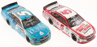Lot of (2) Kasey Kahne Signed LE 1:24 Scale Die-Cast Cars with #5 Aquafina 2015 SS & #5 Hendrick Ride Along Darlington 2015 SS (Action Collectables COA)