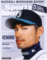 Ichiro Suzuki Signed Seattle Mariners 16x20 Photo (PSA Hologram) at PristineAuction.com