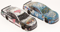 Lot of (2) Kevin Harvick LE 1:24 Scale Die-Cast Cars with Signed #4 Jimmy John's Kickin' Ranch 2018 Fusion Elite & #4 Busch Light / Mobil 1 Michigan Win 2018 Fusion (Action Collectables COA)