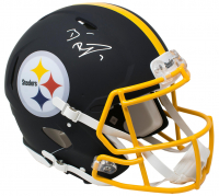 Ben Roethlisberger Signed Pittsburgh Steelers Full-Size Authentic On-Field Matte Black Speed Helmet (Beckett COA & Fanatics Hologram)