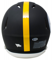 Ben Roethlisberger Signed Pittsburgh Steelers Full-Size Authentic On-Field Matte Black Speed Helmet (Beckett COA & Fanatics Hologram) at PristineAuction.com