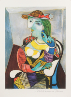 "Pablo Picasso ""Portrait of Marie-Therese Walter"" Limited Edition 11x14.5 Giclee (PA LOA)"