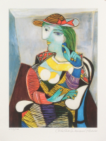 """Pablo Picasso """"Portrait of Marie-Therese Walter"""" Limited Edition 11x14.5 Giclee (PA LOA)"""