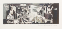 "Pablo Picasso ""Guernica"" Limited Edition 8x16 Giclee (PA LOA)"