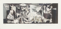 """Pablo Picasso """"Guernica"""" Limited Edition 8x16 Giclee (PA LOA)"""