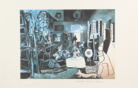 "Pablo Picasso ""Night Scene"" Limited Edition 13x20 Giclee (PA LOA)"