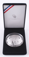 2019-P Apollo 11 50th Anniversary Commemorative 5 Five-Ounce Proof Silver Dollar with Display Case at PristineAuction.com