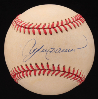 Andre Dawson Signed ONL Baseball (Beckett COA) at PristineAuction.com
