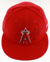 Mike Trout Signed Los Angeles Angels Fitted Hat (PSA COA)