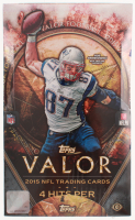 2015 Topps Valor Football Unopened Hobby Box of (36) Packs at PristineAuction.com