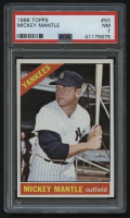 1966 Topps #50 Mickey Mantle (PSA 7)