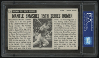 1964 Topps Giants #25 Mickey Mantle (PSA 9) at PristineAuction.com