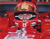 Michael Schumacher Signed 11x14 Photo (JSA LOA)