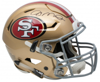 Joe Montana Signed San Francisco 49ers Full-Size Authentic On-Field SpeedFlex Helmet (JSA COA)