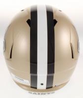 "Alvin Kamara Signed New Orleans Saints Full-Size Speed Helmet Inscribed ""ROY 17"" (Beckett COA) at PristineAuction.com"