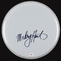 "Mickey Hart Signed 12.5"" Drum Head (PSA COA) at PristineAuction.com"