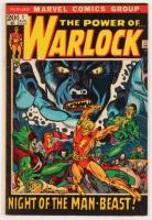 "1972 ""Warlock"" Vol. 1 Issue #1 Marvel Comic Book"