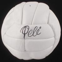 Pele Signed Throwback Soccer Ball (PSA COA)