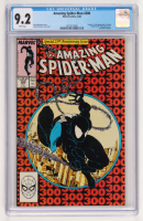 "Vintage 1988 ""The Amazing Spiderman"" Special 25th Anniversary Issue #300 Marvel Comic Book (CGC 9.2)"